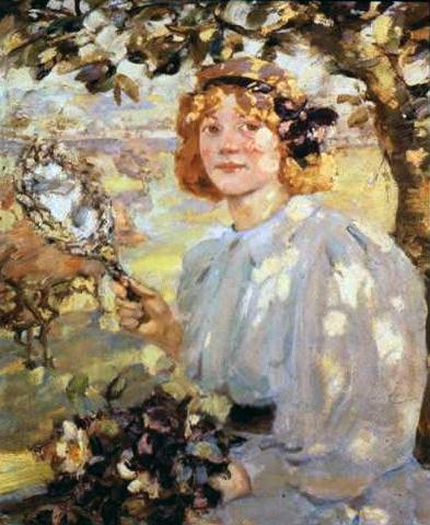 Under the Apple Tree 1899 Bessie MacNichol