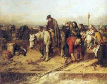 The Last of the Clan 1865 Thomas Faed