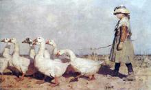 To Pastures New 1883 James Guthrie