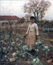The Hind's Daughter 1883 James Guthrie
