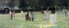 Tennis Party 1885 John Lavery