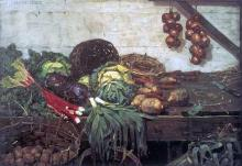 The Vegetable Stall 1884 William York Macgreggor