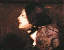 The French Girl 1895 Bessie MacNichol