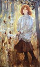 The Goose Girl 1898 Bessie MacNichol