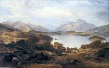 Loch Lomond 1861 Hugh McCulloch