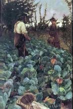 Cabbage Garden 1877 Arthur Melville
