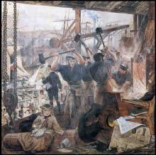 Iron and Coal 1861 William Bell Scott