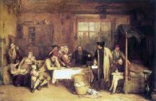 Distraining for Rent 1815 David Wilkie