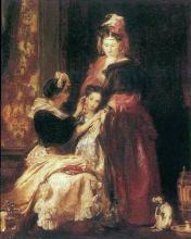 The First Earring 1835 David Wilkie