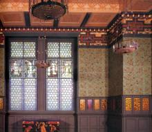 The Grenn Dining Room (detail) 1867