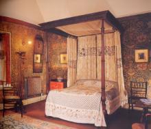 The Honeysuckle Bedroom 1893 Wightwick Manor, Straffordshire