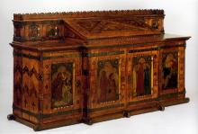 King René's Honeymoon Cabinet (Victoria and Albert Museum) 1861