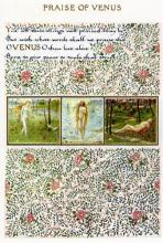 Book of Verse - Praise of Venus 1870 Morris