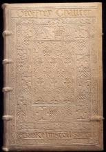 Binding of Chaucer 1896 Morris